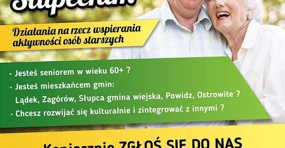 """""""Aktywny senior w Powiecie Słupeckim"""""""