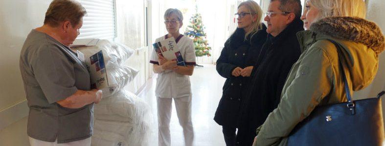 """Stowarzyszenie """"Unia Nadwarciańska"""" wsparło Oddział Dziecięcy SP ZOZ w Słupcy"""