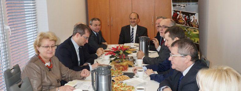 Spotkanie z Włodarzami gmin