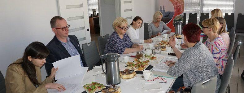 Spotkanie robocze dotyczące projektu współpracy