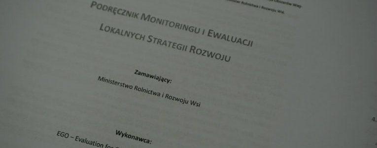 Szkolenie dla pracowników biura z zasad ewaluacji i monitoringu
