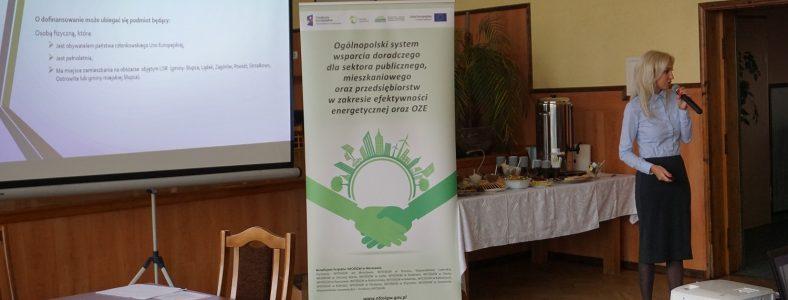 Spotkanie informacyjne w gminie Lądek