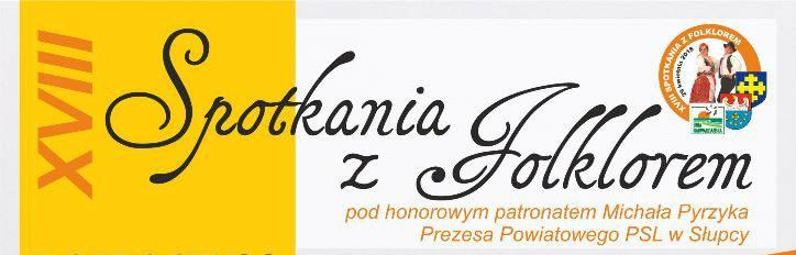 """Spotkania z Folklorem już 29 kwietnia  – a podczas nich konkurs """"Smaki Regionu"""""""