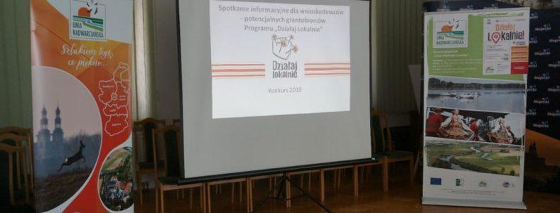 """Odbyło się pierwsze szkolenie dla potencjalnych grantobiorców Programu """"Działaj Lokalnie"""""""