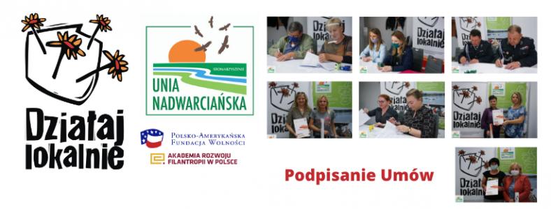 Umowy na realizację inicjatyw w ramach programu Działaj Lokalnie 2020 zostały podpisane!