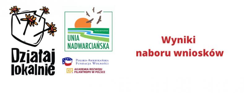 """Nabór w ramach konkursu """"Działaj Lokalnie"""" 2020 został zakończony !"""