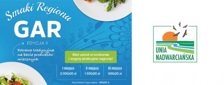 """Konkurs kulinarny """"Smaki Regionu – GAR"""" edycja II"""