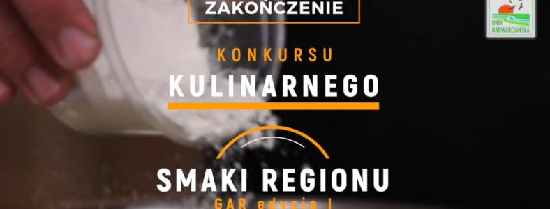 """Film z wręczenia nagród – """"Smaki Regionu GAR edycja I""""."""